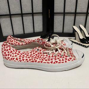 Converse Marimekko Women's size 11 white and red